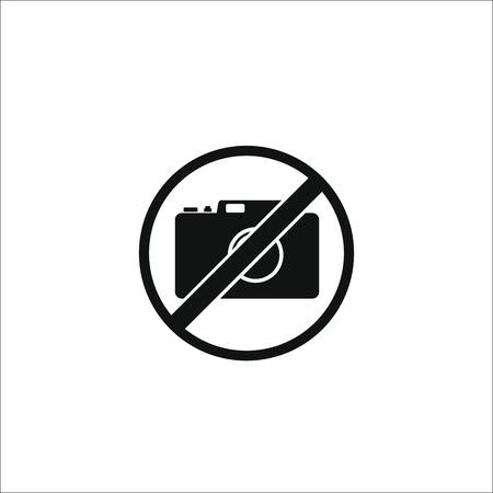Ningún icono de la foto Foto de archivo - 101007712