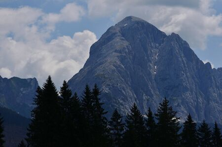 The large outline of Mount Peralba dominates the Visdende valley