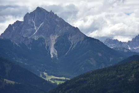Picco Vallandro, the mountains that dominates the Alt Pragser Tal