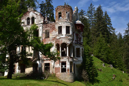 Bagni di San Candido, part of an old structure dating back to the beginning of the last century, once a famous spa resort