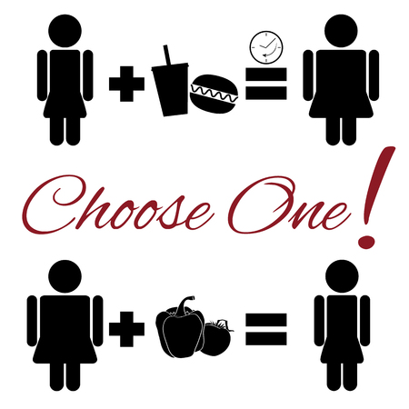 infarct: Fully lifestyle choice pictogram