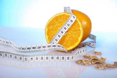 oranges and measure tape photo