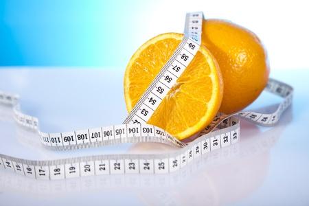 oranges and measure tape photo