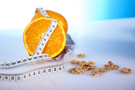 orange and cornflakes photo