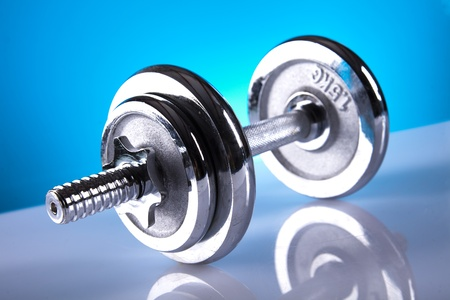 dumbell Stock Photo - 9566924