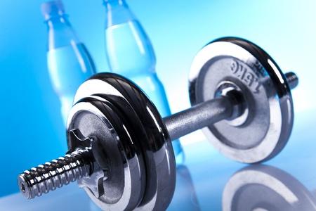 gym equipment Standard-Bild