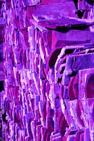 briks: colorful background of briks