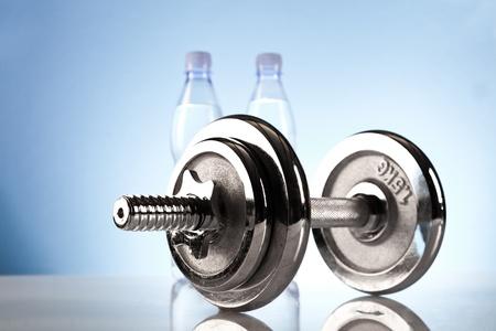 fitnessapparatuur Stockfoto