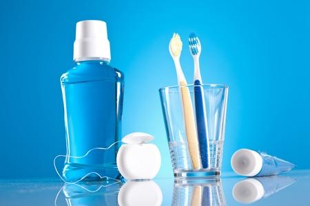 propret�: l'hygi�ne dentaire Banque d'images