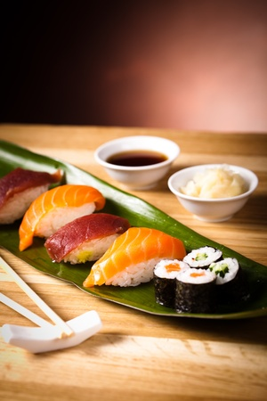 sushi for lunch photo