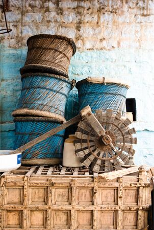 wicker handicrafts  photo