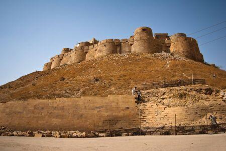 fortress in Jaisalmer photo
