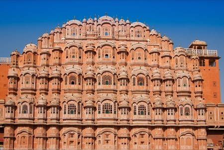Hawa Mahal is a palace in Jaipur, India Stock Photo - 13386217