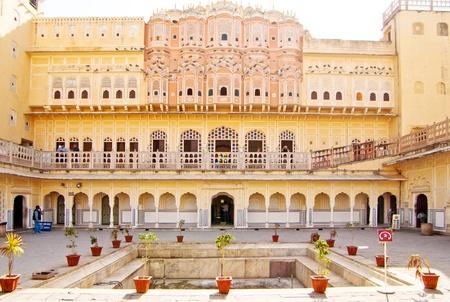 Hawa Mahal is een paleis in Jaipur, India Redactioneel