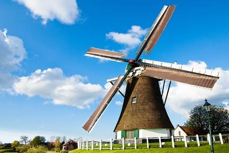 olnd windmill 免版税图像
