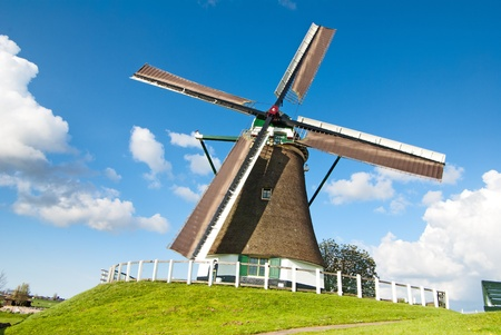 dutch windmil photo