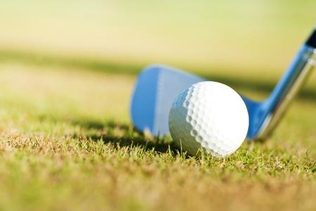 playing golf photo