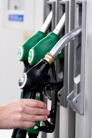 petrol pump  免版税图像