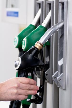 petrol pump  Standard-Bild