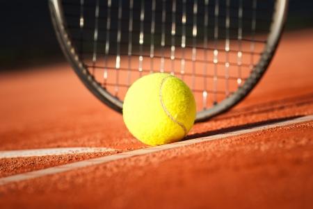 tennis background Standard-Bild