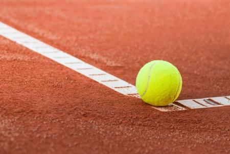 tennisbal abstract Stockfoto