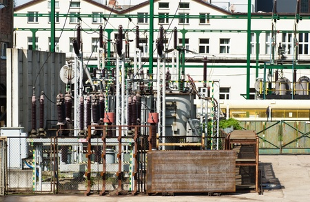 power generator at a power plant