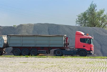 coal transport truck photo