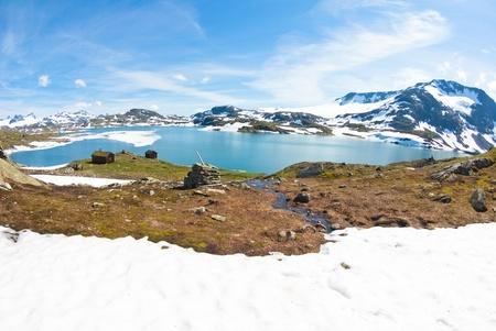 mooi landschap in Noorwegen