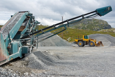 mining industry machines photo