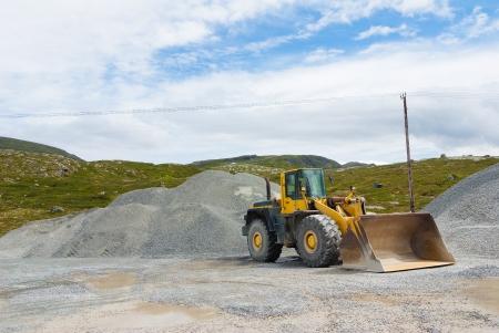 stone mining Stock Photo