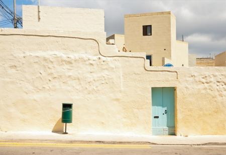 sandstone architecture in Malta 免版税图像