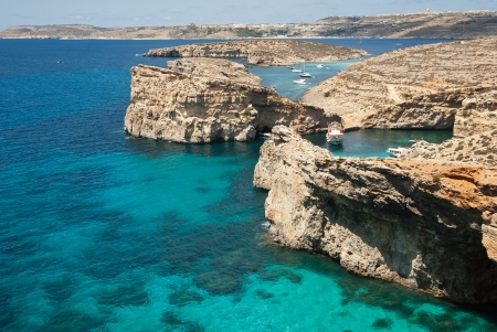 blue lagon in Malta Stock Photo - 15447349