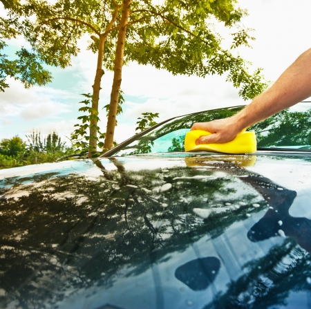 hand car wash Stock Photo - 15600681