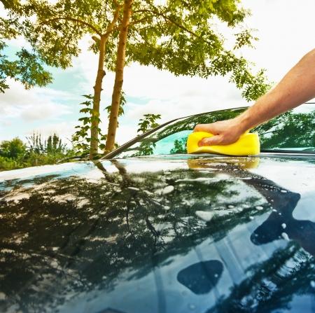 autolavaggio: mano lavaggio auto
