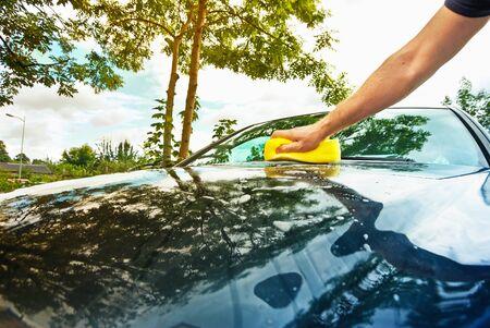 car wash: hand car wash
