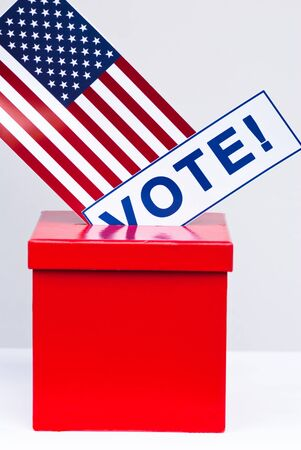 hustings: presidential election in USA concept