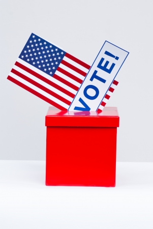hustings: election and democracy concept in USA Stock Photo