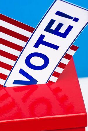 hustings: vote in USA