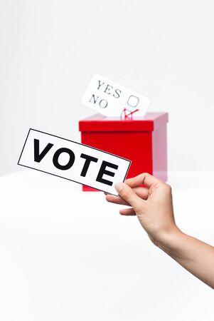hustings: voting