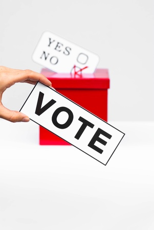 hustings: vote concept