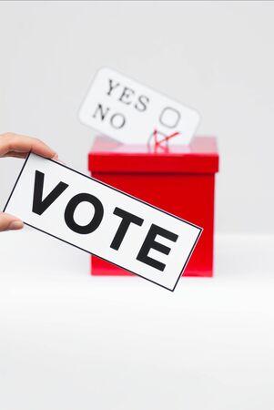 hustings: voting ballot