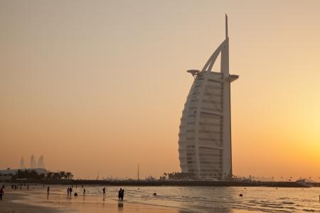 Dubai bezienswaardigheden Stockfoto