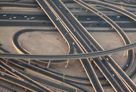 highway in Dubai photo