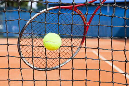 abstract of tennis photo