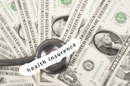 health insurance: health insurance Stock Photo