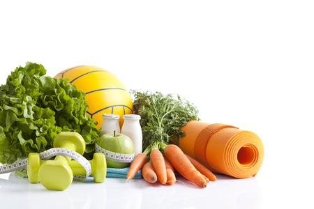 gezondheid en dieet concept Stockfoto