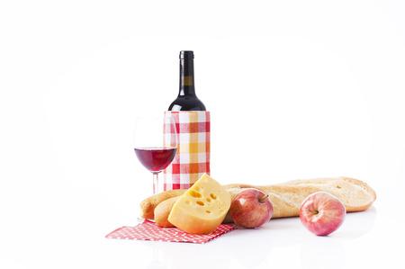 bread basket: wine tasting Stock Photo