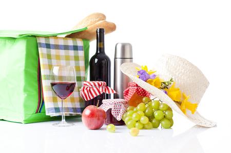 picnic setting photo