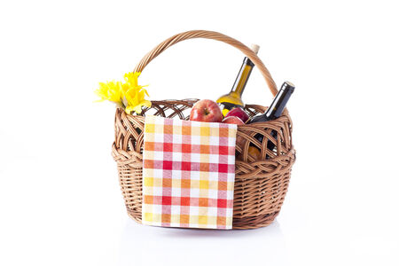 picnic basket  photo