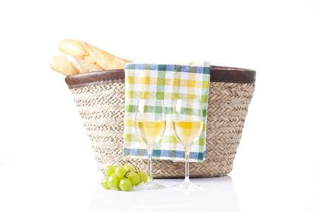 picnic basket  photo